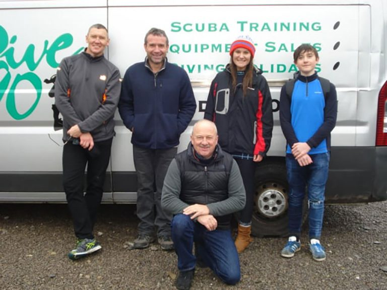 New open water divers - Cromhall