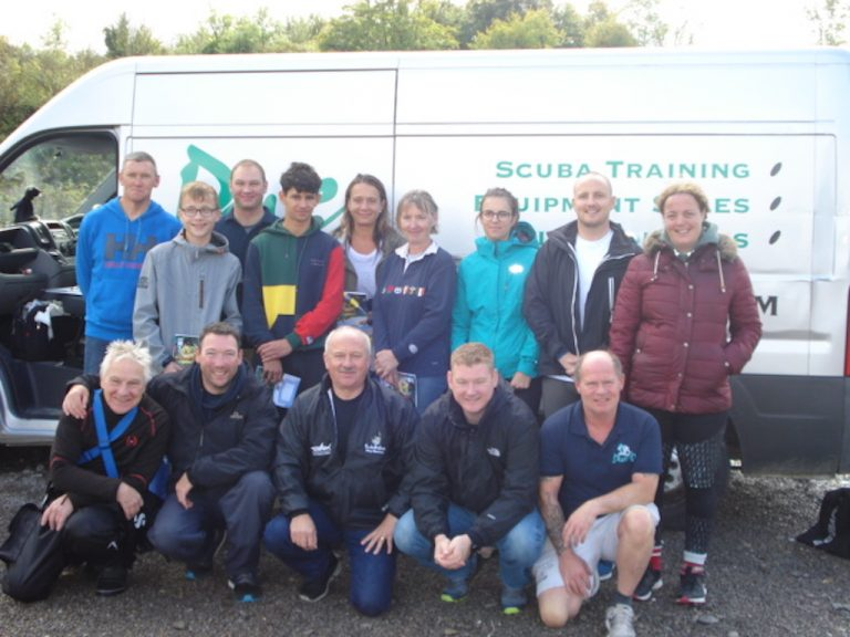 Well done guys - open water course completed
