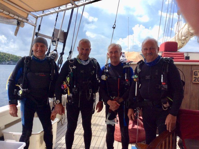 Raja Ampat - 4 divers 248 dives in 20 days