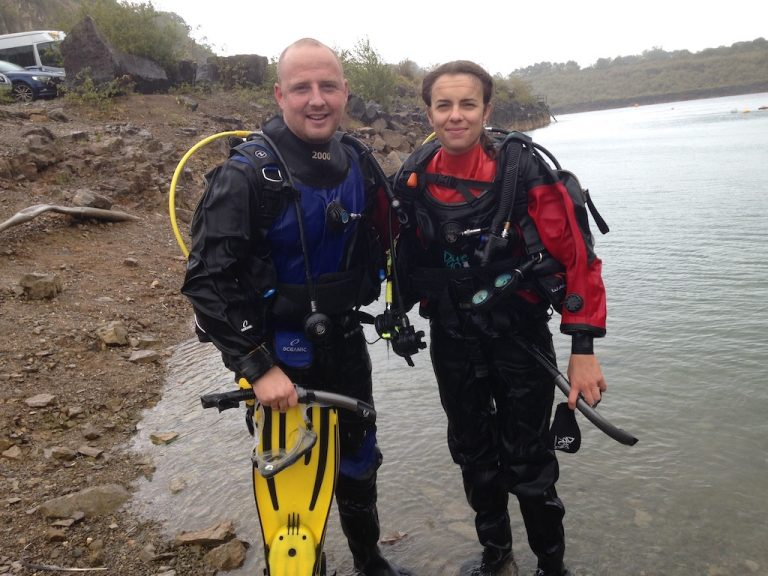 Just completed open water course