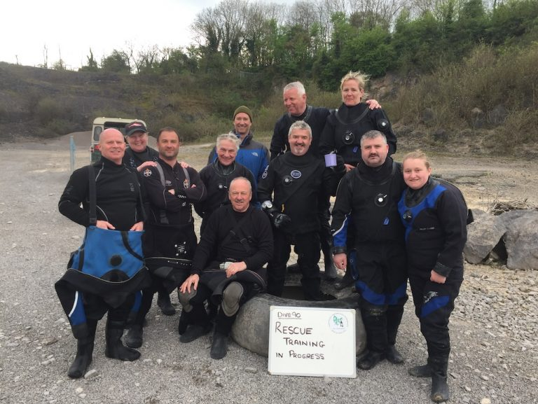 Well done guys - rescue course completed